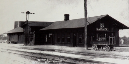 LaPlata Santa Fe Station Year 1918