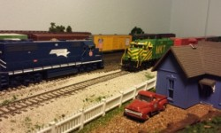 Trails End Model Train and Railroadiana Show. April 25 and 26th 2015